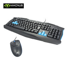 MACNUS Model MN-KM13 107 Keys Gaming Keyboard + 1600 Dpi Mouse
