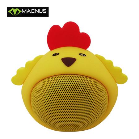 ลำโพงบลูทูธMACNUS Model MN-M816 MINI Speakers BT Speaker - Yellow