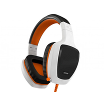 OZONE OZRAGEZ50W RAGE Z50 WHITE/ORANGE REFINED PRO GAMING HEADSET WITH MIC