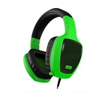 OZONE OZRAGEZ50GLG RAGE Z50 GLOW SERIES GREEN PRO GAMING HEADSET WITH MIC