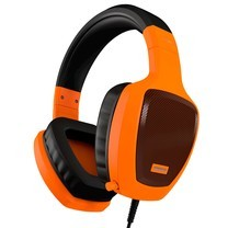 OZONE OZRAGEZ50GLO RAGE Z50 GLOW SERIES ORANGE PRO GAMING HEADSET WITH MIC