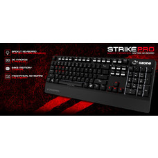 OZONE BACKLIT MECHANICAL GAMING KEYBOARD (THAI) RED SWITCH