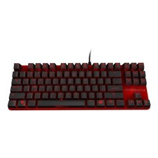 OZONE STRIKE BATTLE RED GAMING MECHANICAL  KEYBOARD (THAI/RD)  MX CHERRY RED SWITCH