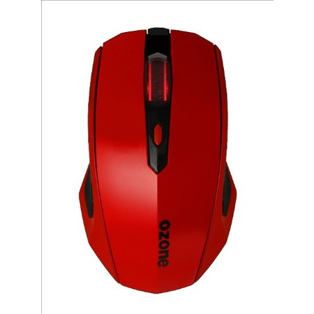 OZONE OPTICAL PRO GAMING MOUSE RED 3500DPI