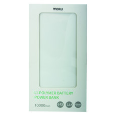 MORUI POWER BANK PX10-101-03-WHITE 10000mAh
