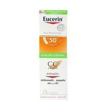 EUCERIN SUN DRY TOUCH CC CREAM SPF50+ 50 ml.