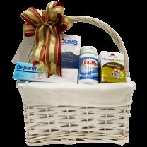 กระเช้าของขวัญเพื่อสุขภาพสำหรับคุณแม่ Maternity basket size S (กระเช้าเพื่อสุขภาพ ไซด์ S)