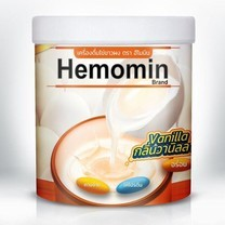 HEMOMIN VANILLA FLAVOURED EGG WHITE POWDER BEVERAGE 400 G.