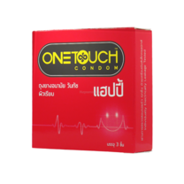 ONE TOUCH HAPPY CONDOM ขนาด 52 มม.