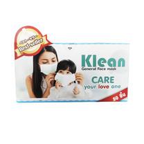 KLEAN General Face Mask หน้ากากอนามัย จำนวน 50 ชิ้น/กล่อง