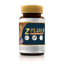 Clover Plus Z Plus Zinc 30 แคปซูล ช่วยลดรอยแดงที่เกิดจากสิว พร้อมช่วยบำรุงเส้นผม และเล็บ