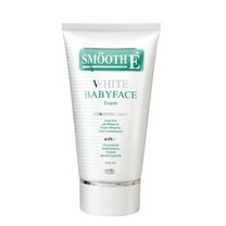 SMOOTH E White Babyface Foam 4 in 1 ขนาด 2 OZ.(Free Cleansing Water 30ml.)