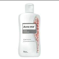 ACNE-AID LIQUID CLEANSER 100 ml  (สีแดง) ผลิตภัณฑ์ทำความสะอาดผิวหน้า