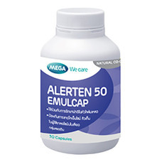 ALERTEN 50 EMULCAP Q10 50mg 30's (MEGA) SP