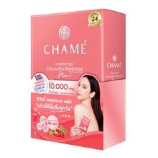 CHAME' Hydrolyzed collagen Tripeptide Plus คอลลาเจน (150 g.)10 ซอง
