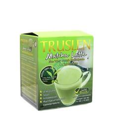Truslen Matcha Latte เครื่องดื่มชาเขียว เพื่อสุขภาพและควบคุมน้ำหนัก 1 กล่อง 10 ซอง
