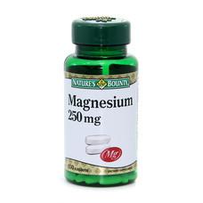 NB MAGNESIUM 250 MG 100'S