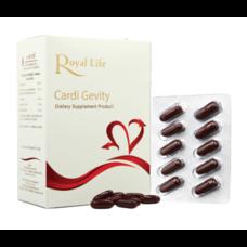 Royal Life Cardi Gevity Softgel 30'S วิตามินบำรุงหัวใจและหลอดเลือด ขนาด 30 เม็ด