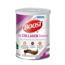NESTLE BOOST COLLAGEN DARK CHOCOLATE 400 G.