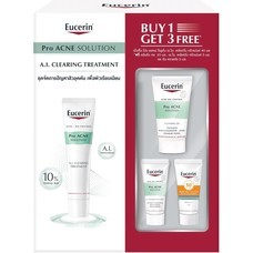 Eucerin Pro ACNE A.I. Clearing Treatment 40ml[Free! Cleansing Gel 20ml + A.I.Clearing Treatment 5ml + Sun Dry Touch 5ml]