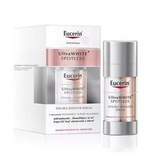EUC ULTRAWHITE+ SPOTLESS Double Booster Serum 30ML   ลดฝ้าแดดหนาลึก และจุดด่างดำ ช่วยฟื้นบำรุงเต็มความอิ่มฟูทุกมิติ เผยผิวดูขาวใส