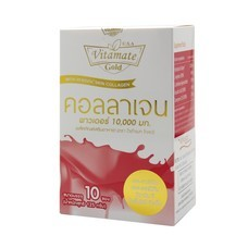 VITAMATE GOLD COLLAGEN POWDER 10,000 MG. 10 SAC.