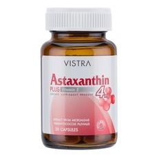 Vistra Astaxanthin 4mg 30cap สุดยอดสารอาหารเพื่อบำรุงผิว