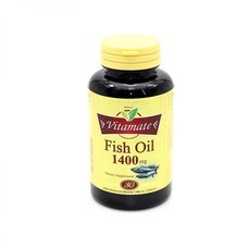 VITAMATE FISH OIL 1400 MG 30'S TRIP STRENGH