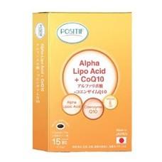 POSITIF ALPHA LIPO ACID + COQ10 (15'S)
