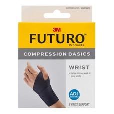 Futuro Compression Basics Wrist Support พยุงข้อมือ รุ่นเบสิค ชนิดกระชับได้ 3M