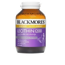 Blackmores Lecithin 1200 mg. 100เม็ด 1ขวด บำรุงสมองระบบประสาท