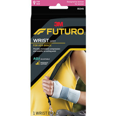 FUTURO FOR HER WRIST BRACE ADJ  (LEFT)