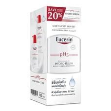 Eucerin Hydro Serum 400 ml (x2 Pcs)  ยูเซอริน พีเอช5 ไฮโดร ซีรั่ม 400มล.x2 ขวด