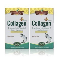 [Value Pack]  Vitamate Collagen with Vit C (60's+60's)