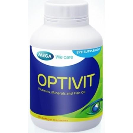 OPTIVIT 30'S เหมาะผู้ใช้สายตามาก ปัญหาตาแห้ง ตาล้า จอตาเสื่อม ปัญหาโรคต้อตา ปัญหาโรคต้อกระจก ต้านอนุมูลอิสระที่ตา เพิ่มประสิทธิภาพการมองเห็นชัดขึ้น