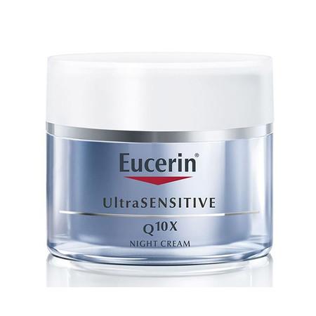EUCERIN ULTRASENTIVE Q10X NIGHT 50 ML.