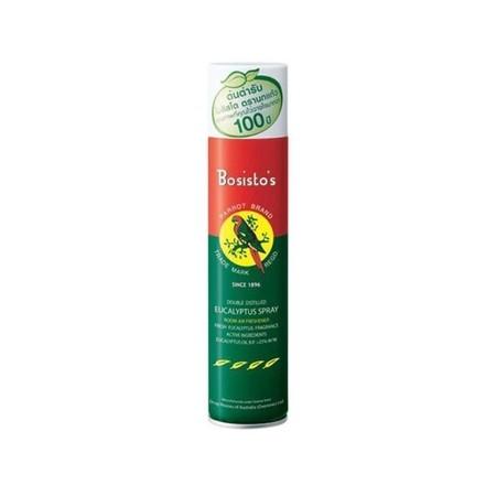 BOSISTO'S SPRAY 300 ml. PARROT Bosisto's Eucalyptus Citrus Spray 300ml (1กระป๋อง)