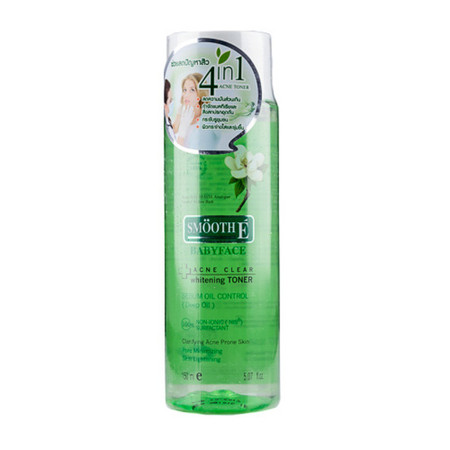 Smooth E Acne Clear Whitening Toner 150 ml