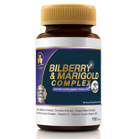 CLOVER PLUS BILBERRY AND MARIGOLD COMPLEX 30 CAPSULES
