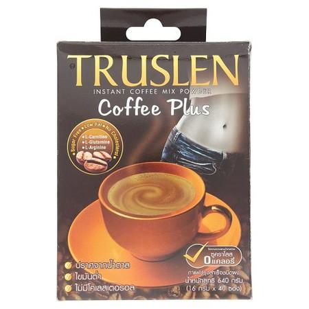 TRUSLEN COFFEE PLUS 40ซอง/กล่อง