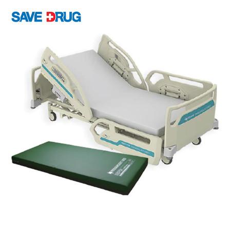 เตียงไฟฟ้าเพื่อป้องกันผู้ป่วยพลัดตกเตียง พร้อมเบาะนอนป้องกันแผลกดทับ