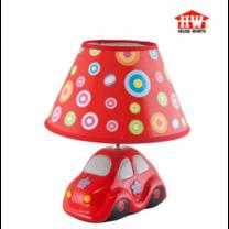 House Worth โคมไฟตั้งโต๊ะ สีแดง รุ่น HW-D116 (CAR)