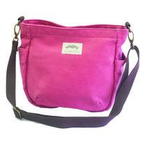 Nicopy กระเป๋าหิ้วผ้าสายยาว (สีชมพู) รุ่น NCP-BG-010004-PI