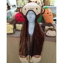 Nicopy ผ้าพันคอพร้อมหมวกคลุม รุ่น NCP-CI-040003