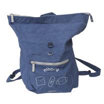 Nicopy กระเป๋าผ้าสะพายหลัง (สีน้ำเงินเข้ม) รุ่น NCP-BG-020003-DB