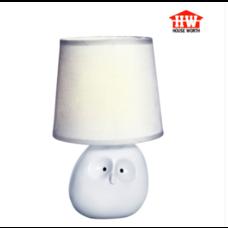 House Worth โคมไฟตั้งโต๊ะ สีขาว รุ่น HW-AT13469