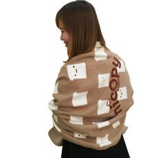 Nicopy ผ้าห่มลายขนมปังโมชิ (สีน้ำตาล) NCP-CI-040001-BR