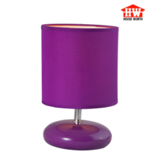 House Worth โคมไฟตั้งโต๊ะ สีม่วง รุ่น HW-AT12309
