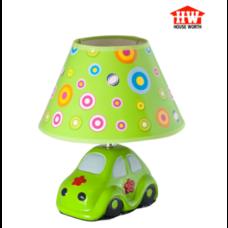 House Worth โคมไฟตั้งโต๊ะ สีเขียว รุ่น HW-D116 (CAR)