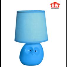 House Worth โคมไฟตั้งโต๊ะ สีฟ้า รุ่น HW-AT13469
